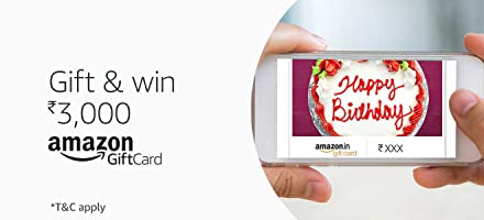 Gift and win Rs.3000* | Amazon Gift Cards