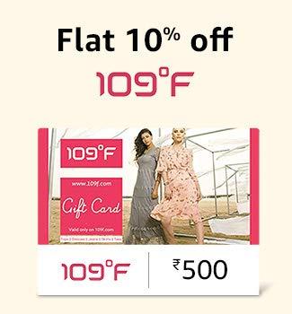 109f gift card