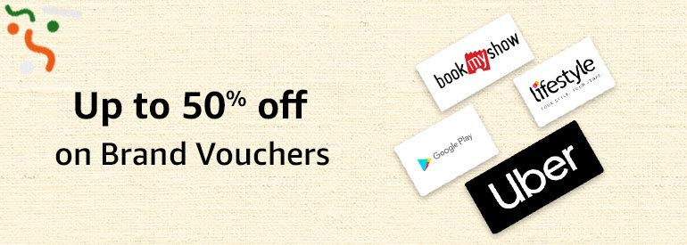 Up to 50% off on Brand Vouchers