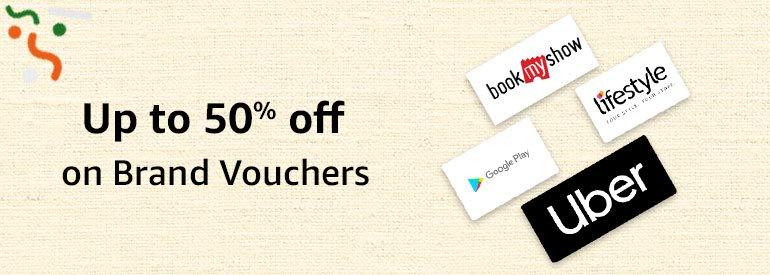 Up to 50% offon Brand Vouchers