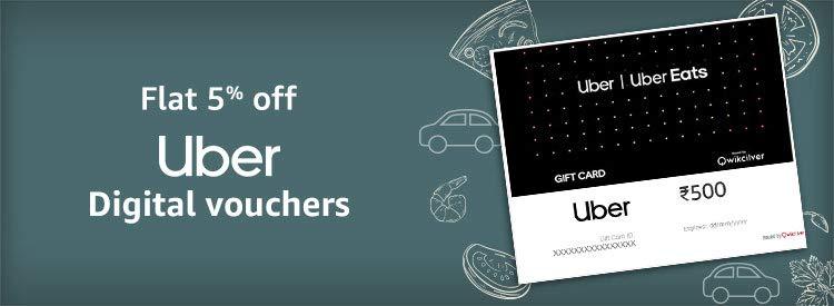 Uber gift cards
