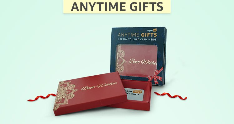 Amazon India Brings To You Amazing Email Gift Cards Boxes Greeting And Other Easy Gifting Ideas For Every Occasion Such As Anniversaries