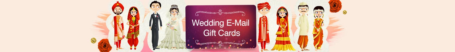 Wedding Email Gift Cards