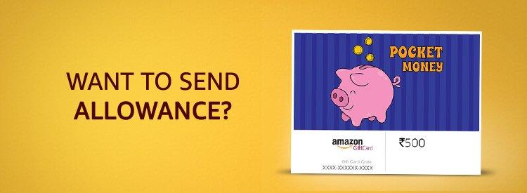 Want to send allowance?