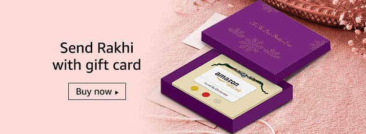 Send Rakhi with gift card