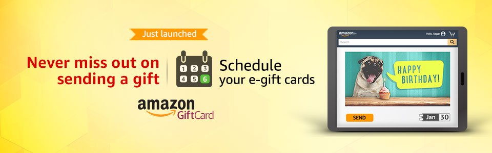 Schedule Gift Cards