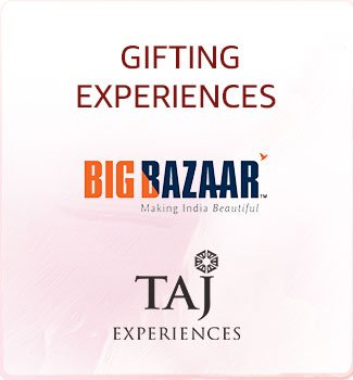 Gifting experiences