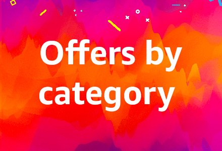 Offers by category