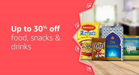 Upto 30% off groceries