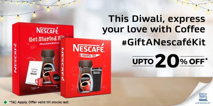Nescafe get started kit