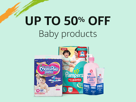 Up to 50% off: Baby Products