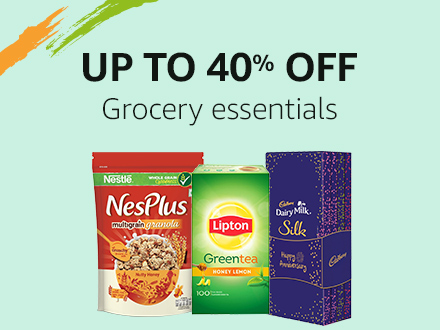 Up to 40% off: Grocery essentials