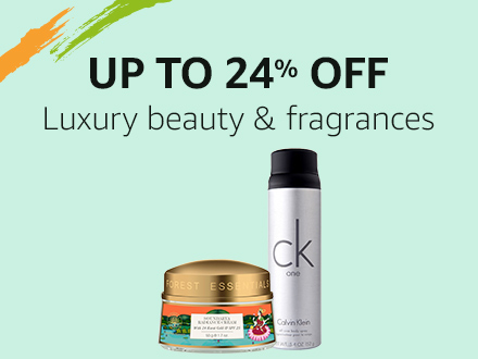 Up to 24% off: Luxury beauty