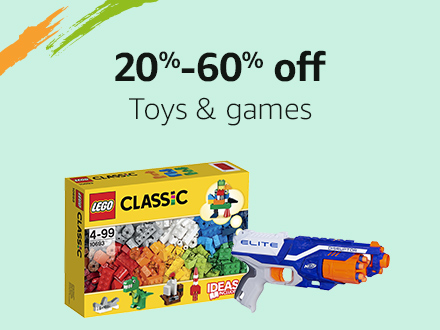 20% - 60% off: Toys & games