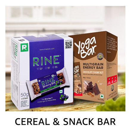 Cereal & snack bars