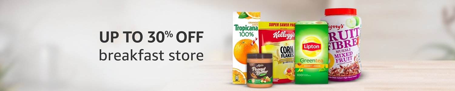 Up to 30% off: Breakfast store