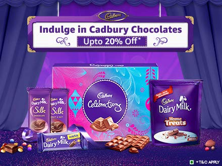 Up to 20% off: Cadbury