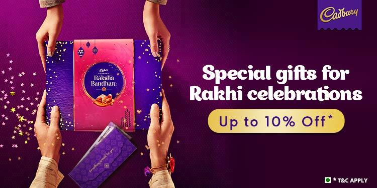 Cadbury Rakhi hampers
