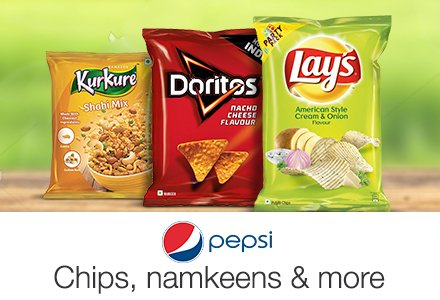 Pepsi Snacks