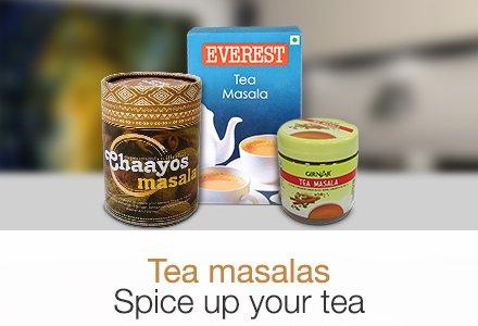 Tea Masalas