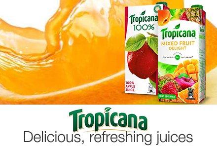 Tropicana fruit juices