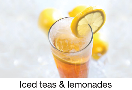 Iced teas & lemonades