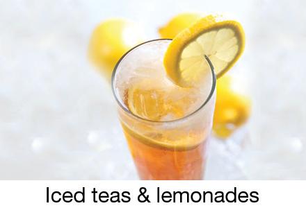Iced teas & lemonades