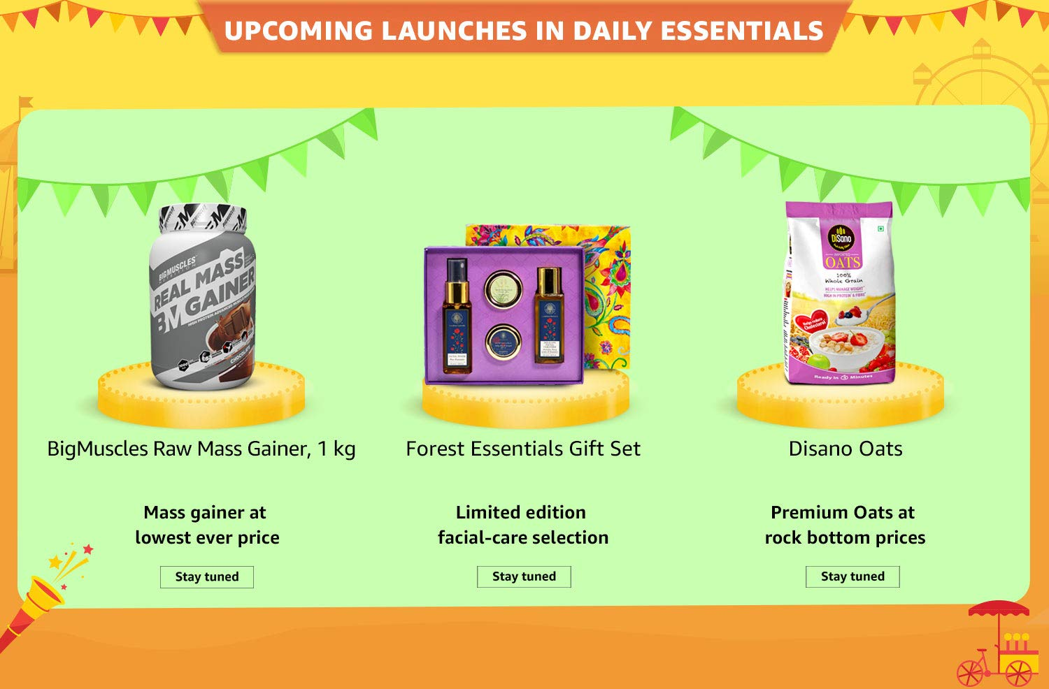 Consumables launches