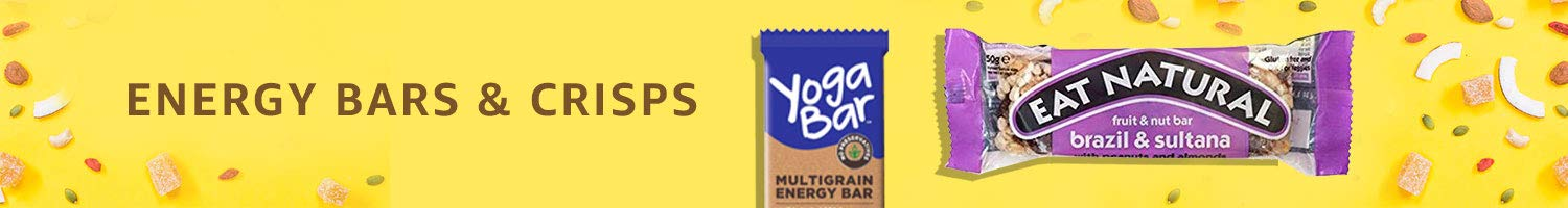 Energy bars and crisps