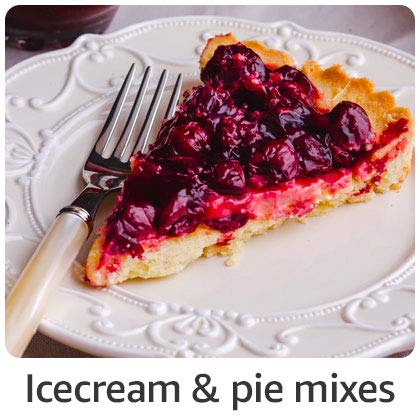 Ice cream & pie mixes