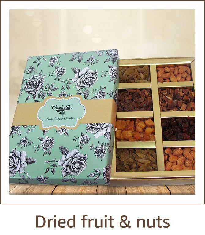 Gift Hampers Chocolates Sweets Dried Fruits Nuts