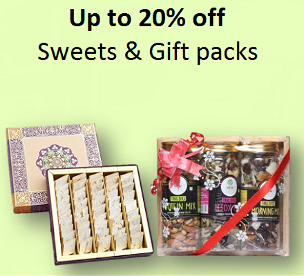 Sweets & Gift packs