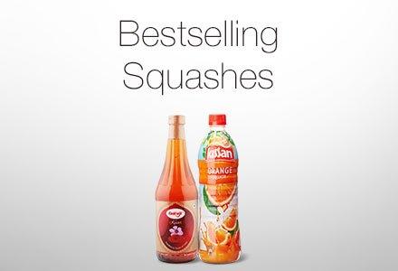 Bestselling squashes