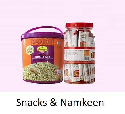 Snacks & namkeen
