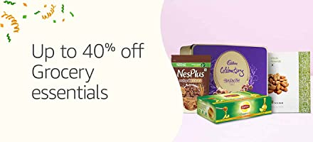 Up to 40% off:Grocery essentials