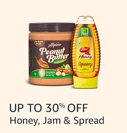 Honey, jam and spreads