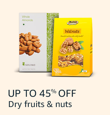 Up to 45% off: Dry fruits & nuts