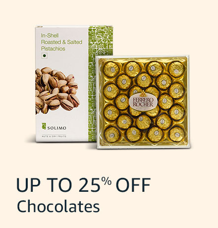 Up to 25% off: Chocolates