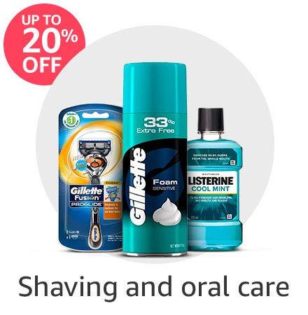 Shaving & oral care