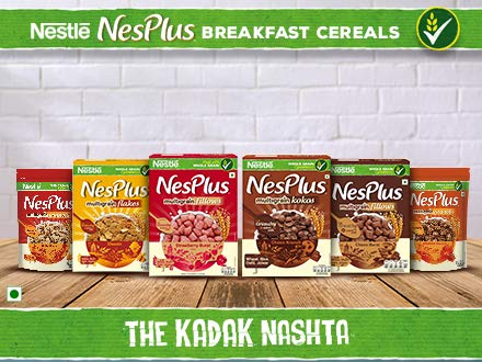 Nesplus breakfast cereals