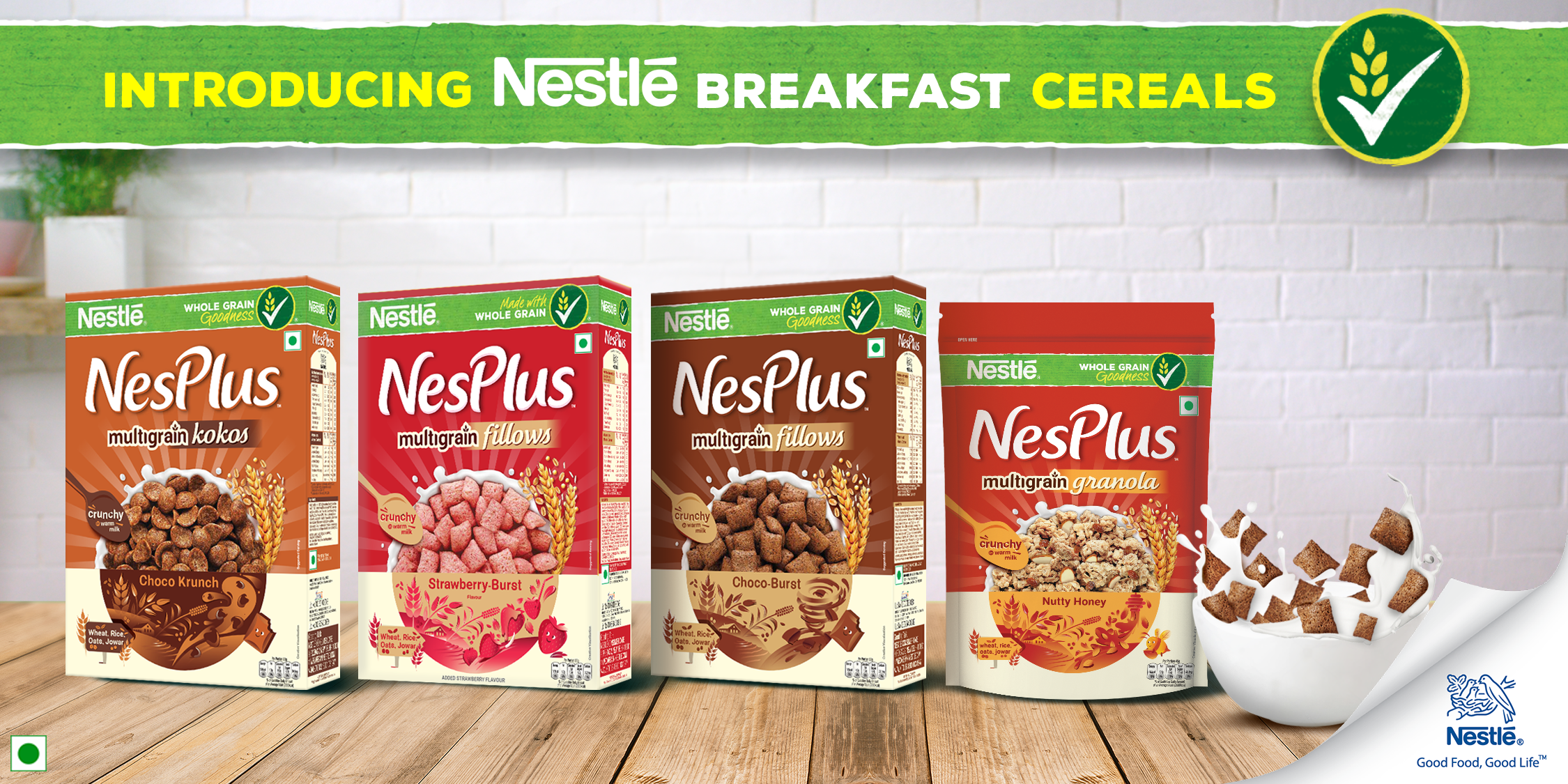 Nesplus Breakfast Cereal
