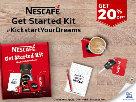 Nescafe starter kit