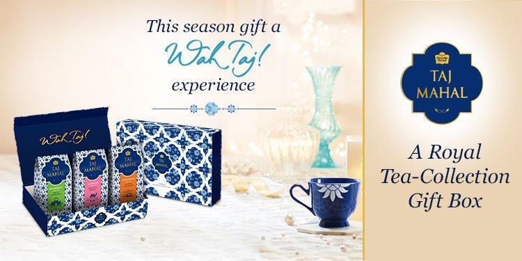 Taj Mahal tea gift pack