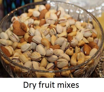 Dry fruits mixes
