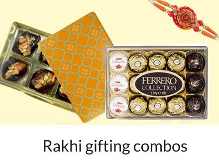 Rakhi chocolate gift combo