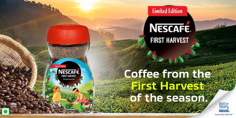 Nescafe first harvest