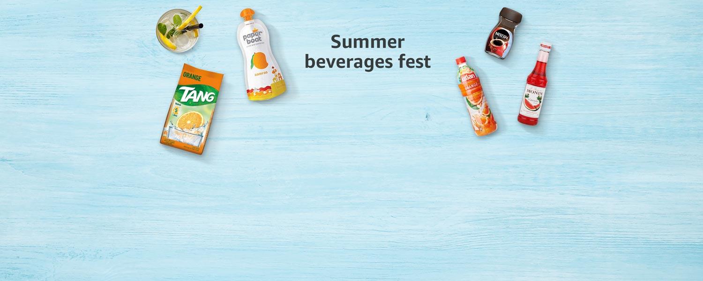 Summer beverages fest