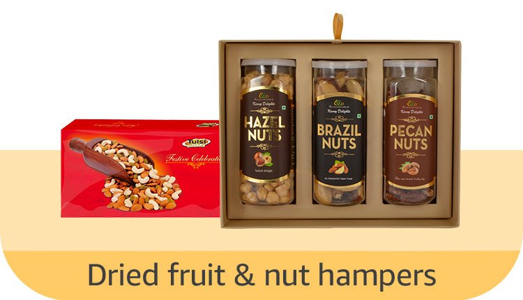 Dried fruits & nuts hampers