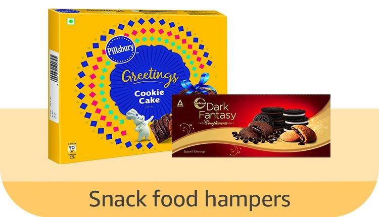 Snack food hampers