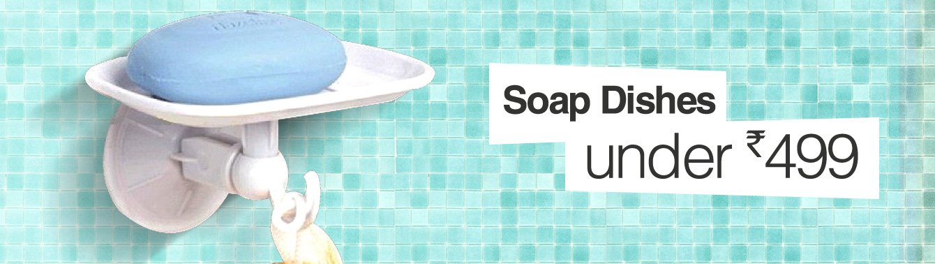 Soap Dishes under Rs. 499